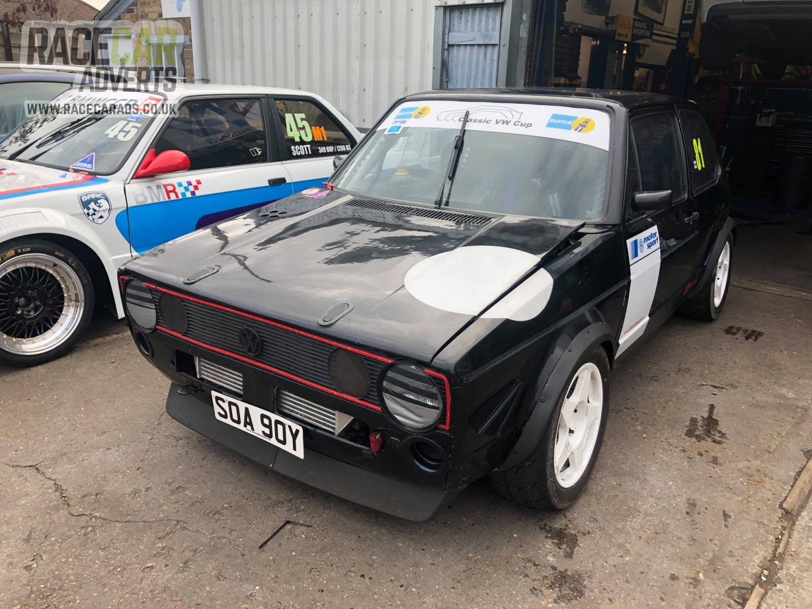 volkswagen golf mk turbo race saloons race cars race car adverts