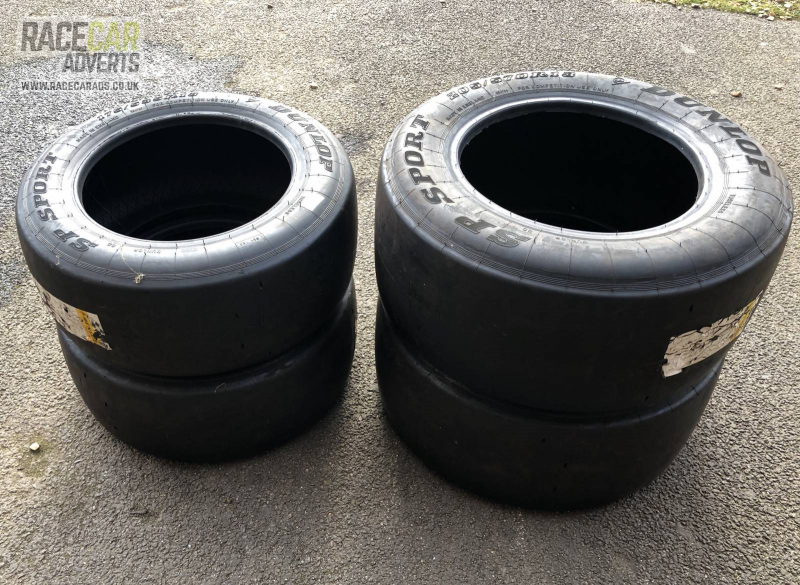 Dunlop Full Slicks - Radical SR1 Specification Brand New